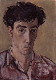 John Minton, Self Portrait, c. 1953