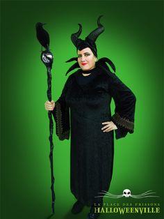Costume de Maléfique pour l'Halloween