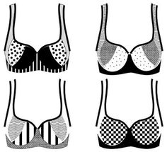 could be cool for swimsuits,  Professional lingerie patterns and sewing supplies — Make Bra