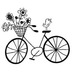 whimsical bicycle art