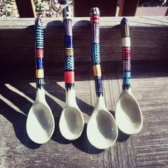 All spoon orders come in a set of two! Are you looking for a gift for a coffee or tea loving friend?Then these handmade ceramic spoons are perfect for you! Eac