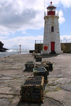 Lybster Harbour Lighthouse, Scotland