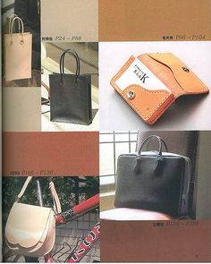 Hand Sewing Leather Bags Japanese Leather craft by CollectingLife, $25.00