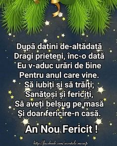 An Nou Fericit, Birthday Wishes, Birthday Cards, Happy New Year Greetings, From Where I Stand, Christmas Wallpaper, Spiritual Quotes, Wonderful Time, Life Is Good