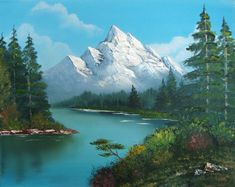 Bob Ross Art Prints Posters Paintings Painting Picture