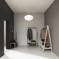 Normann Copenhagen — Dropit Hooks, Norm03 Lamp, Sko Shoe Rack, Toj Clothing Rack