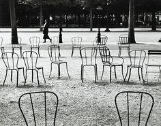 André Kertész  Chairs of Paris ,1927  link