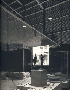 1986 Shelters for Roman archaeological site, Chur, Graubünden, Switzerland