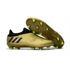 4e996110a54 Adidas Messi - Adidas Messi 16 Pureagility FG AG Fodboldsko Guld Sort