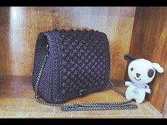 Hướng dẫn khâu ngăn lót phụ có dây khóa kéo kèm ngăn phụ 2 trong 1 - How to crochet a Handbag - YouTube