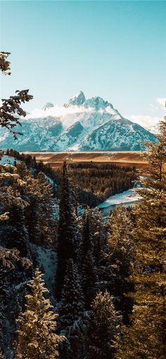 Landschaftsfotografie des weißen Berges iPhone X Hintergrundbild Download   iPhone Wal ...