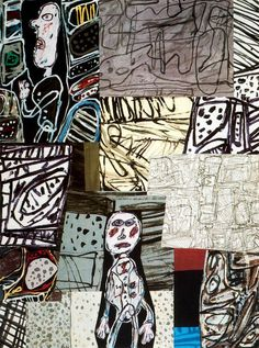 Jean Dubuffet. Long before Basquiat and  Outsider Art, there was Dubuffet!