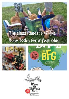 Timeless Reads: 3 of the Best Books for 8 Year Olds