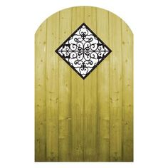 ProGuard - Treated Wood Gate with Decorative Insert - FP12QFFG06 - Home Depot Canada $76.47