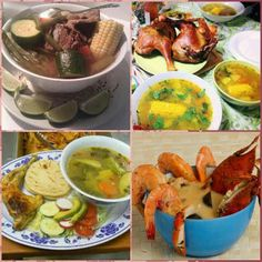 Assorted Meals ~~~~ Salvadorian Style
