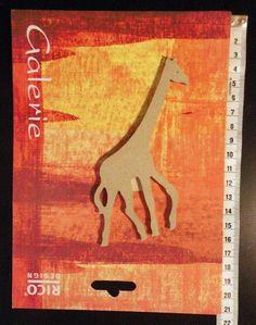 Rico Design Galerie Holzdeko kleiner Giraffe