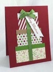 Simple Christmas Cards, Christmas Card Crafts, Homemade Christmas Cards, Printable Christmas Cards, Homemade Cards, Christmas Card Making, Christmas Card Ideas With Kids, Scrapbook Christmas Cards, Christmas Cards Handmade Kids
