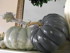 Painted $ store pumpkins
