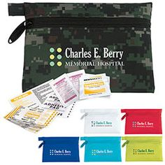 Norwood - Personal First Aid Kit holds 10 first aid items and is even suitable for direct mail programs.