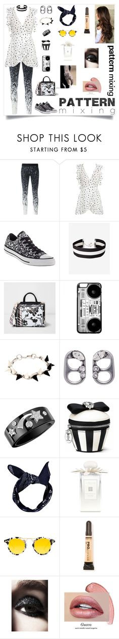 """""""Untitled #1414"""" by dress-n-dysfunktion ❤ liked on Polyvore featuring Reebok, WithChic, Converse, Express, River Island, Joomi Lim, Marc Jacobs, Chanel, Boohoo and Jo Malone"""