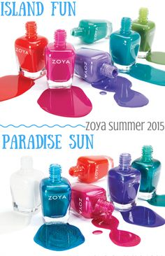 Preview: Zoya Summer 2015 Collections | Island Fun & Paradise Sun (Available on 5/5)