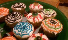 Spooky holloween cupcakes