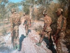 definitely not sadf uniforms - so hipe they were UNITa