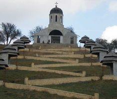 Manastirea Cerbu Romania, Stairs, Building, Travel, Ladders, Voyage, Stairway, Buildings, Viajes