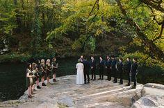 Alabama river wedding