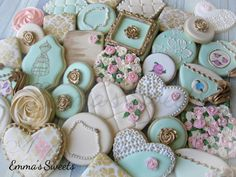 Vintage Inspired Cookies by Emma's Sweets | Cookie Connection