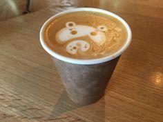FoodWaterShoes - Not Your Average Joe – Sleepy Bear Coffee in Lausanne, Switzerland - Coffee Art Latte Art Cappuccino Bear Sleepy Bear, Average Joe, Lausanne, Latte Art, Coffee Art, Switzerland, Eat, Tableware, Food