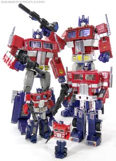 Optimus Prime(s)....my son's favorite!! :)