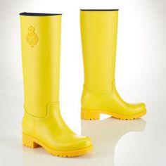 Bottes de pluie Phillipa - Polo Ralph Lauren Chaussures plates - Ralph  Lauren France Bottes De 1009308b038