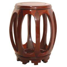 Oriental Furniture Pedestal Plant Stand | Wayfair