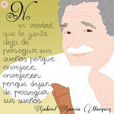 Gabriel Garcia Marquez  Ideas Desarrollo Personal para www.masymejor.com