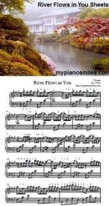 River Flows in You Sheet Music Free Sheet Music, Piano Sheet Music, River Flow In You, Music Love, Music Quotes, Music Videos, Creativity, Note, Memories