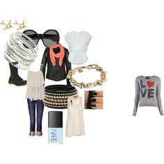"""What are you rebelling against?"", created by melfrey on Polyvore"