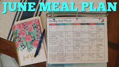 JUNE MEAL PLAN // MEAL PLAN FOR THE MONTH // HOW TO MEAL PLAN FOR THE WHOLE MONTH