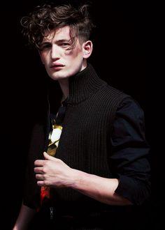 homme—models:  Dylan Hartigan dor LVR Magazine Photo: Paolo Zerbini