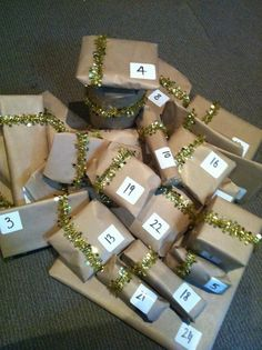 the best kind of advent calendar <3