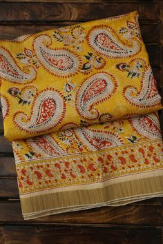 Chanderi Bliss -  Chanderi sarees are set apart by their light weight and glossy texture. This collection of  Chanderi Sarees celebrates the beauty of symmetric prints, be it with geometric or floral patterns. Block Printed Chanderi Saree has become one of the must-have items for every saree connoisseur .