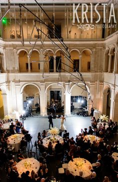 Gorgeous wedding at the Harvard Art Museums.  First Dance by © Krista Photography, Boston Wedding Photographers