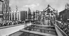 Atomium at the Universal Exhibition of Brussels - Expo 58 #atomium #expo58 #worldexhibition #worldfair #bruxelles #brussels #brussel #1958 #atomicage #expouniverselle #wereldtentoonstelling
