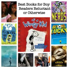Best Books for Boy Readers, Reluctant or Otherwise (ages 7-14): Part 1, Authors A-L : PragmaticMom