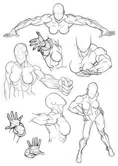 Sketchbook: Foreshortening by Bambs79.deviantart.com on @deviantART