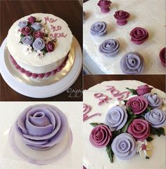 Cake Decorating Classes Near Thornton : Happy Birthday Cake with Name Edit Happy Birthday Pink ...