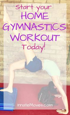 A workout for adult gymnastics training! Includes 5 easy warm-ups for strength training, flexibility, and gymnastics. Easy Gymnastics Moves, How To Do Gymnastics, Gymnastics Warm Ups, Gymnastics For Beginners, Toddler Gymnastics, Gymnastics At Home, Gymnastics Stretches, Gymnastics Tricks, Tumbling Gymnastics