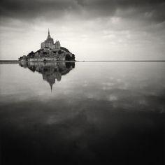 Mon St. Michel, France - Michael Kenna