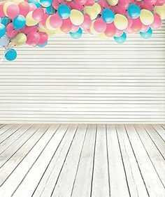 Plancher en bois Photographie Décors Enfants Photo Studio Accessoires Photo Bé Balloons Photography, Background For Photography, Photography Backdrops, Wedding Photography, Birthday Photography, Cheap Backdrop, Backdrop Decorations, Studio Backdrops, Vinyl Backdrops