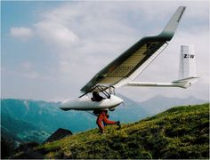 archeaopteryx, foot launched glider